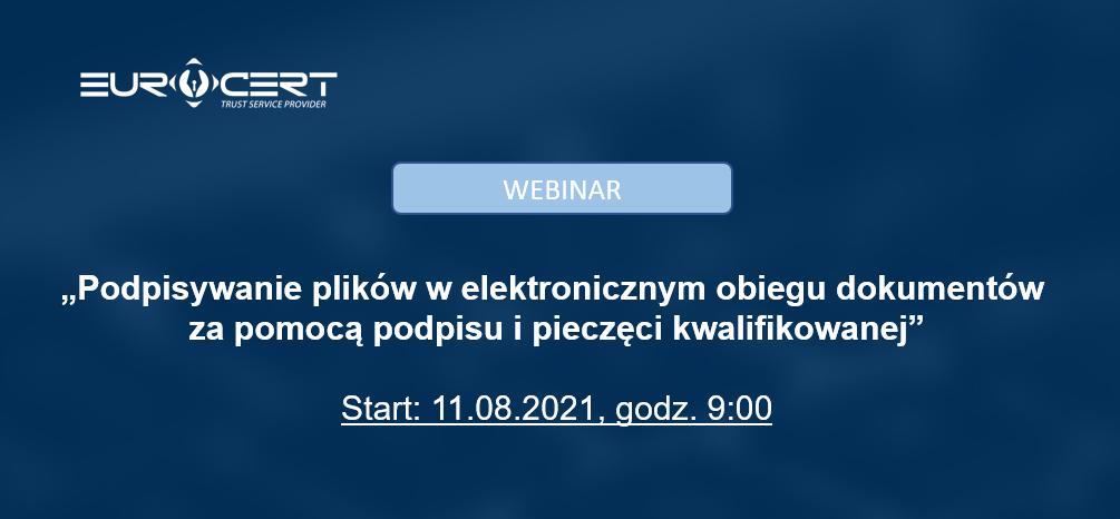 (Polski) Webinar – jak generować oszczędności dzięki Usługom Zaufania w EOD